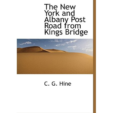 The New York and Albany Post Road from Kings Bridge ()