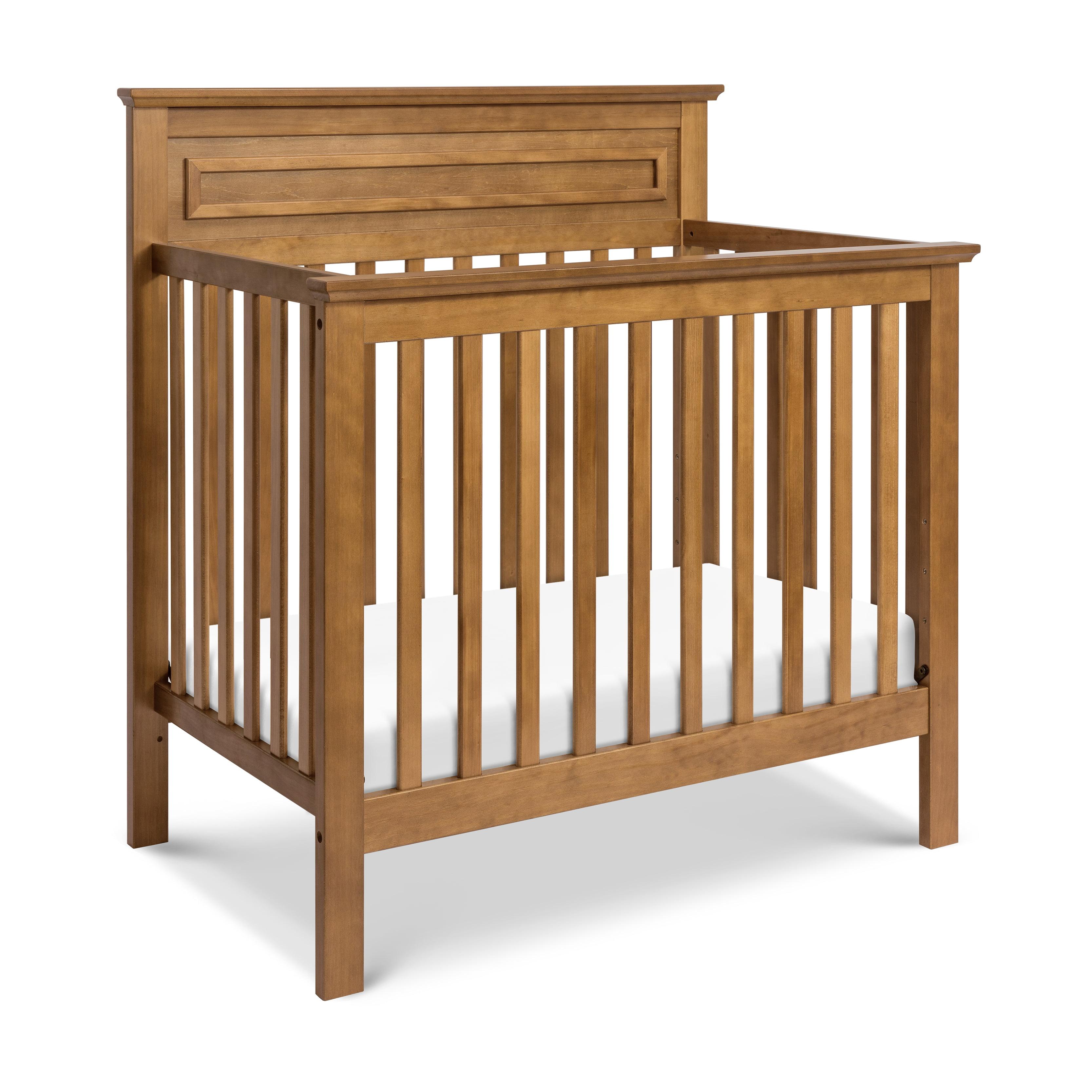 DaVinci Autumn 2-in-1 Mini Crib and Twin Bed in Chestnut