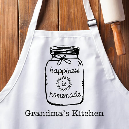 happiness is homemade personalized apron walmart com