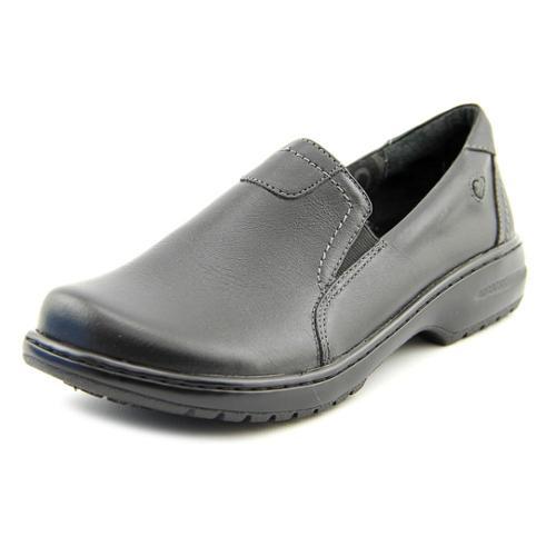 Nurse Mates Meredith Women Round Toe Leather Black Work Shoe - Walmart.com