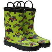 Foxfire FOX-600-36-2 Childrens Green Sand Toys Rain Boot - Size 2