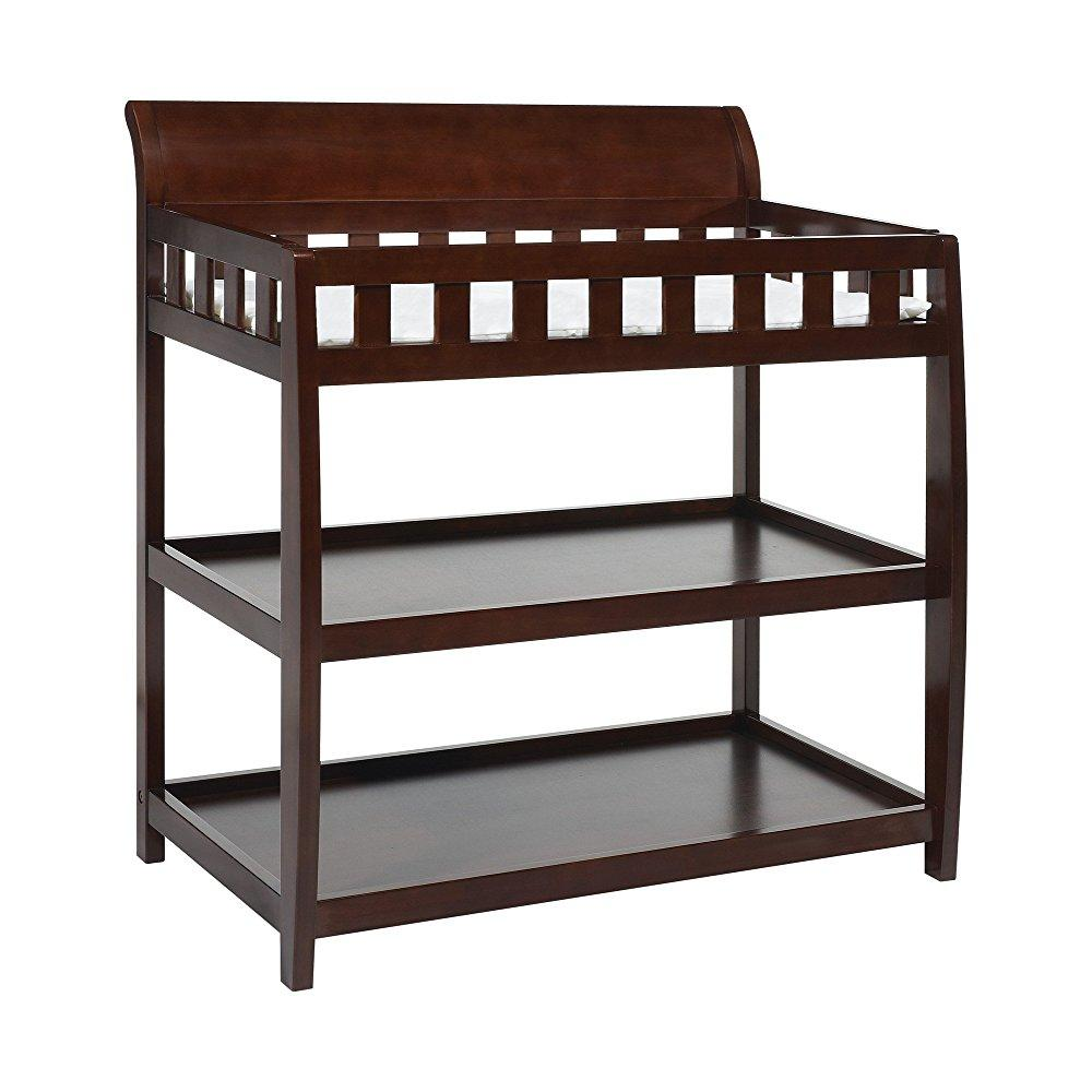 Bentley convenience baby furniture changing table, espresso