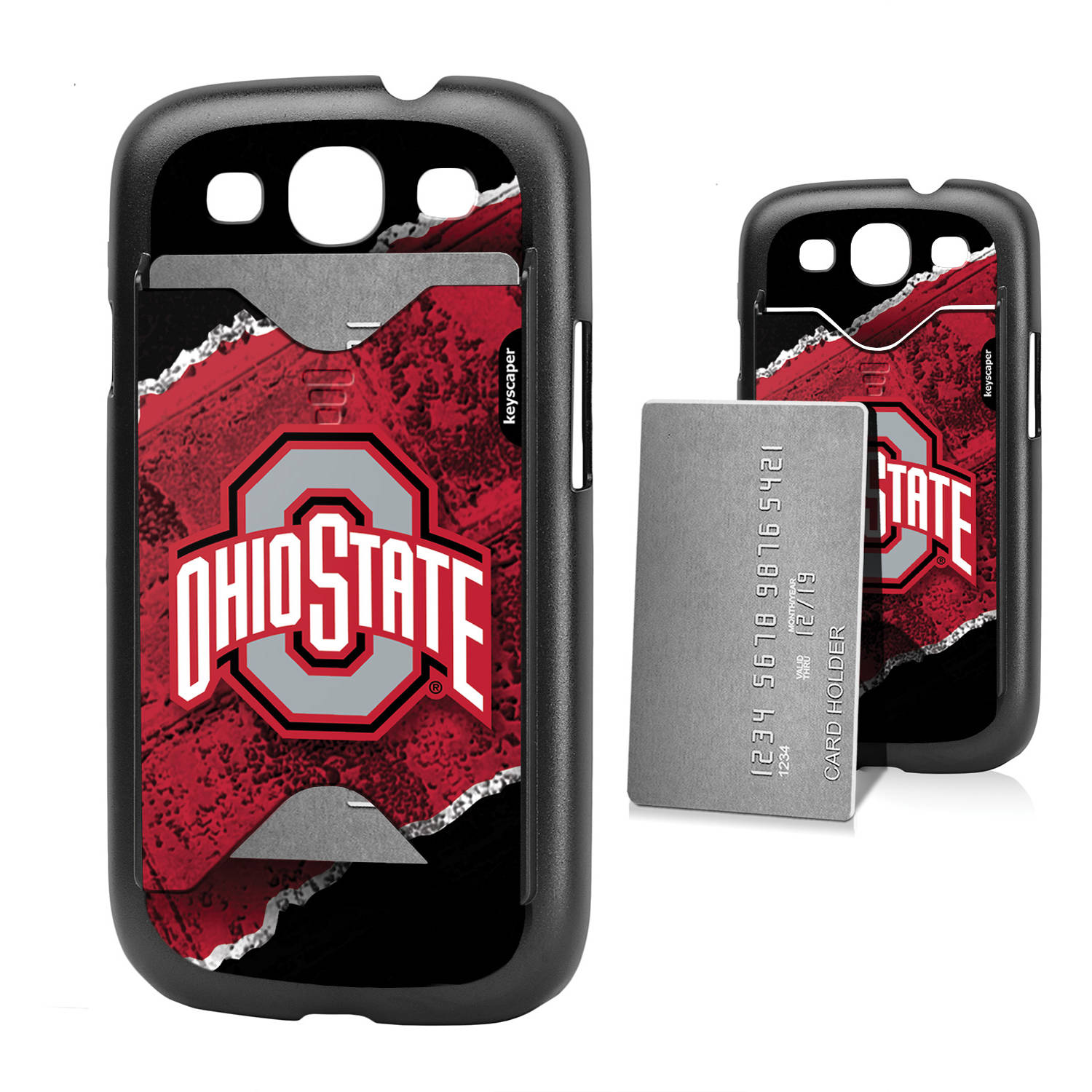 Ohio State Buckeyes Galaxy S3 Credit Card Case