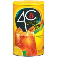 4C Drink Mix, Lemon Iced Tea, 74.2 Oz, 1 Count