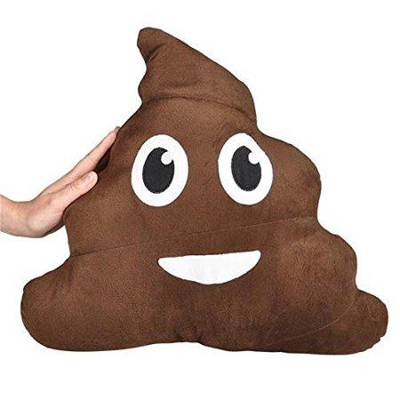 Giant Poop Emoji Pillow