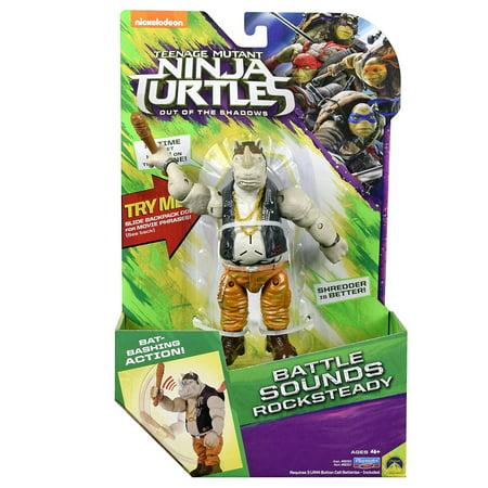 Deluxe Turtle (TMNT Movie 2 Deluxe Talking Rocksteady )