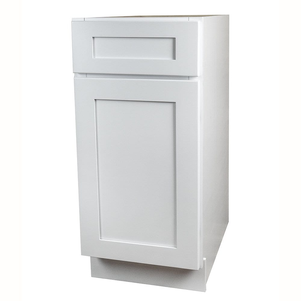 Big Offer! GHI White Shaker Kitchen Base Cabinet only $259.99 + ...