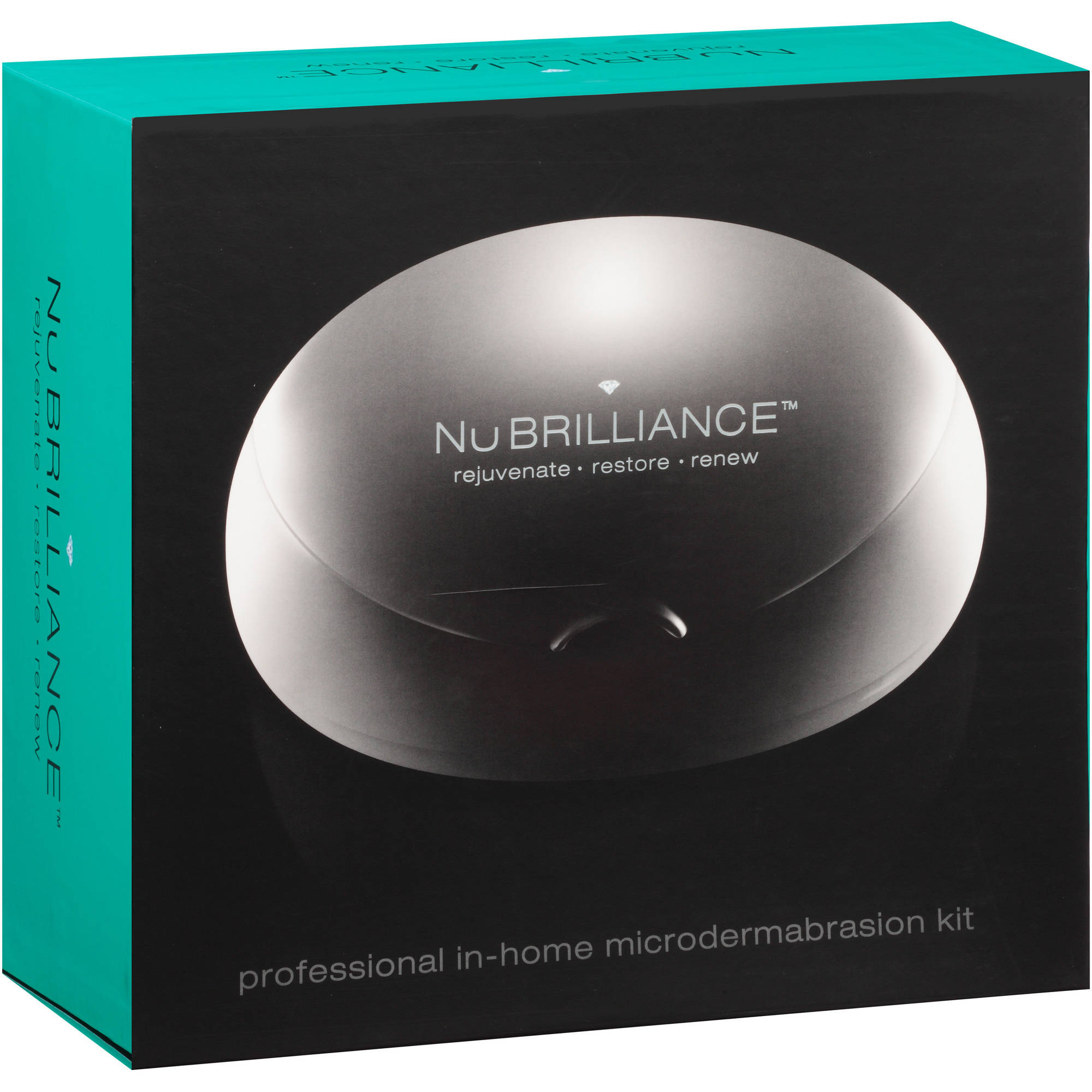 NuBRILLIANCE Professional In-Home Microdermabrasion Kit, 34 pc