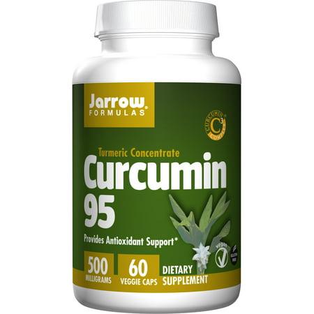 Jarrow Formulas Curcumin 95, Provides Antioxidant Support, 500 mg, 60 Veggie Caps