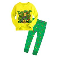 Teenage Mutant Ninja Turtles Kids Boys Nightwear Pj's Sleepwear Pajamas 2-7Y