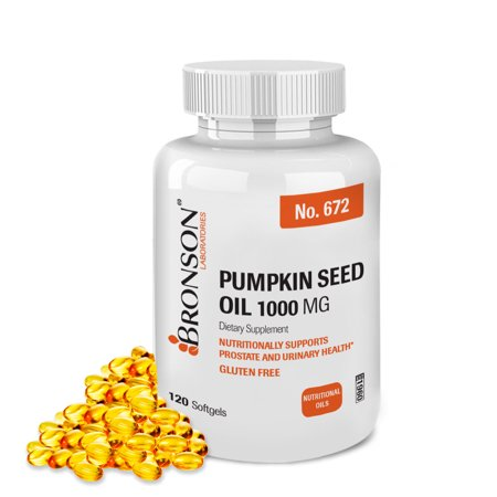 Bronson Pumpkin Seed Oil 1000 mg, 120 - Pumpkin Owl