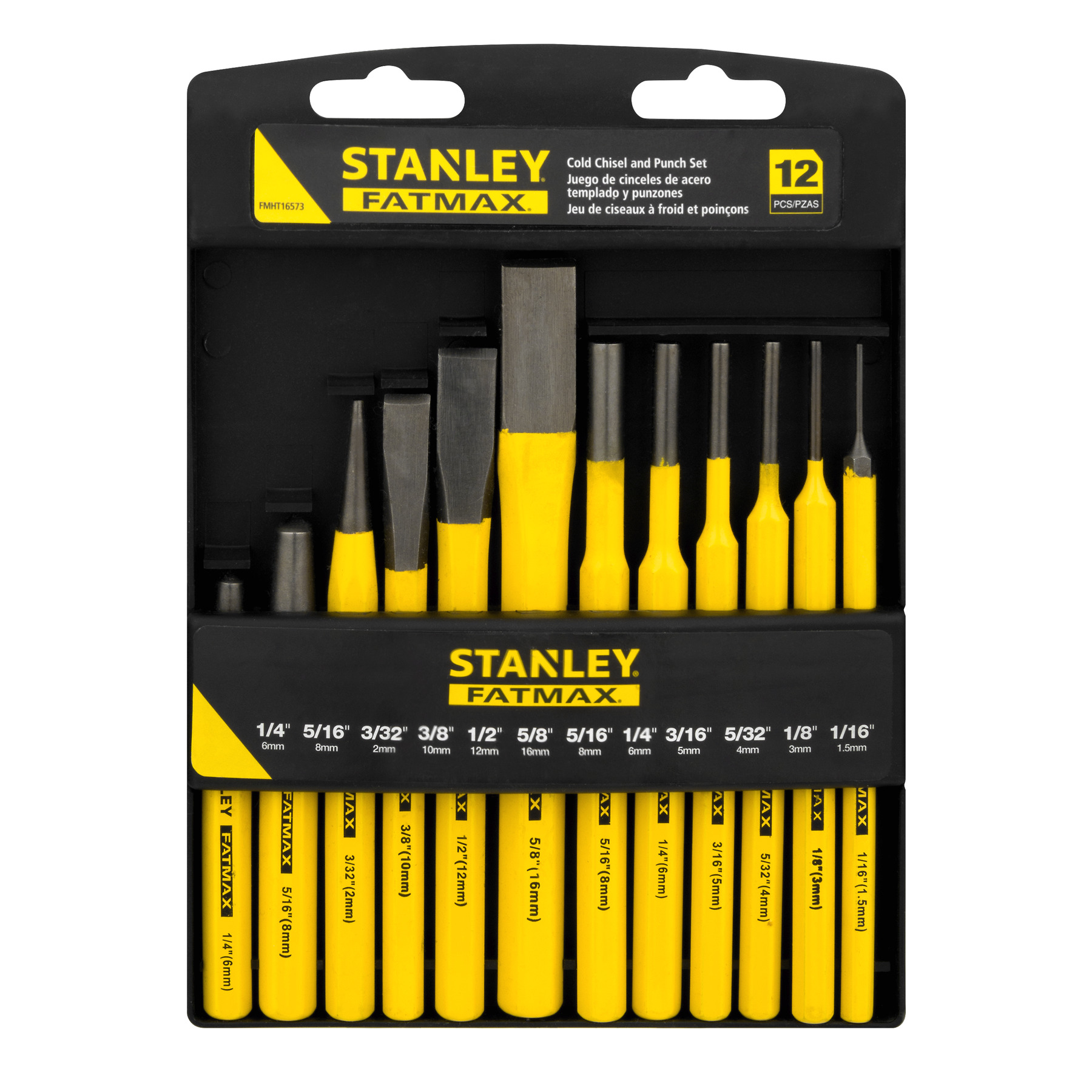 Stanley FatMax Cold Chisel And Punch Set 12 PC, 12.0 PIECE(S) by Stanley