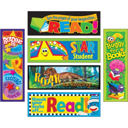 Trend, TEPT12908, Reading Adventure Bookmark Combo Pack, 1 Pack, Assorted