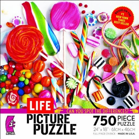 Ceaco Life Picture Puzzle Candy Is Dandy Walmart