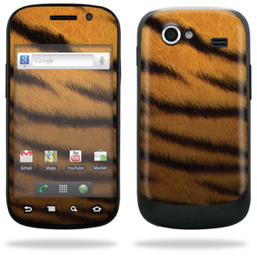 Mightyskins Protective Vinyl Skin Decal Cover for Samsung Google Nexus S 4G Cell Phone wrap sticker skins  - Black Widow