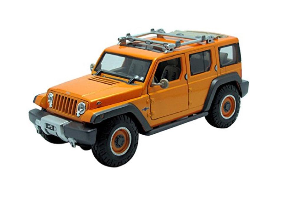 Maisto 1:18 Scale Jeep Rescue Concept Diecast Vehicle, Orange by Diecast Dropshipper
