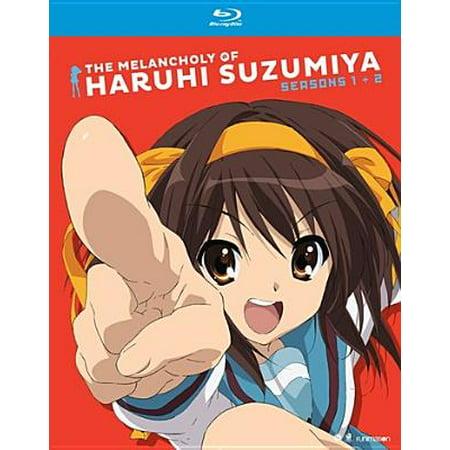 Haruhi Suzumiya Cloth - The Melancholy of Haruhi Suzumiya: Seasons One and Two (Blu-ray)