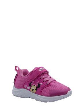 Disney Minnie Mouse Lightweight Athletic Sneaker (Toddler Girls)