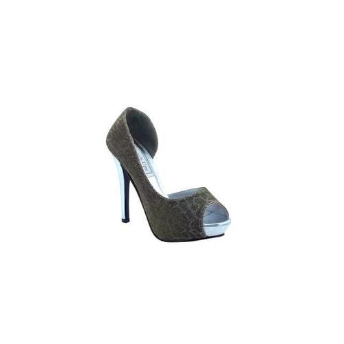 Touch Ups by Benjamin Walk Sissy Women  Open Toe Synthetic  Platform Heel