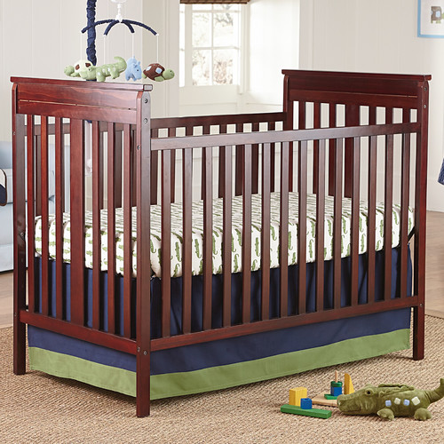 Crown Crafts Infant Products NoJo Alligator Blues 4-Piece Crib Bedding Set