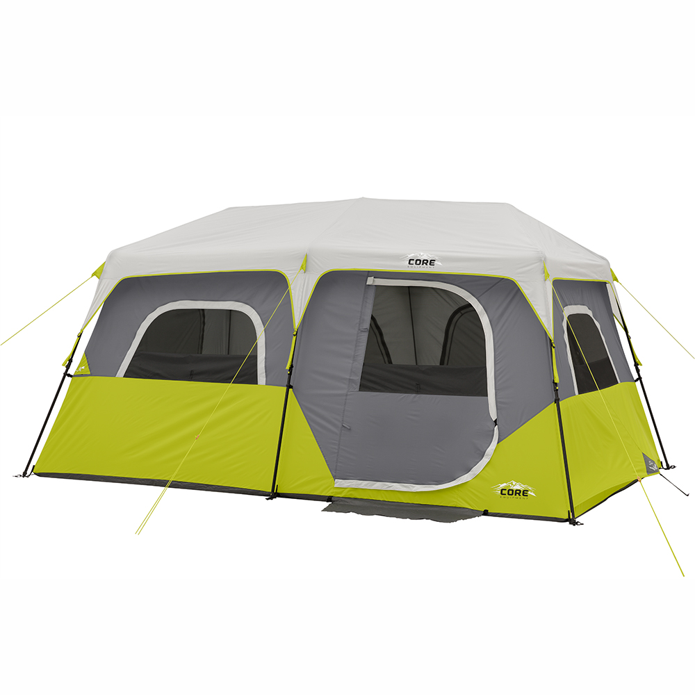 Core Equipment 13' x 9' Instant Cabin Tent, Sleeps 8 by Elevate LLC