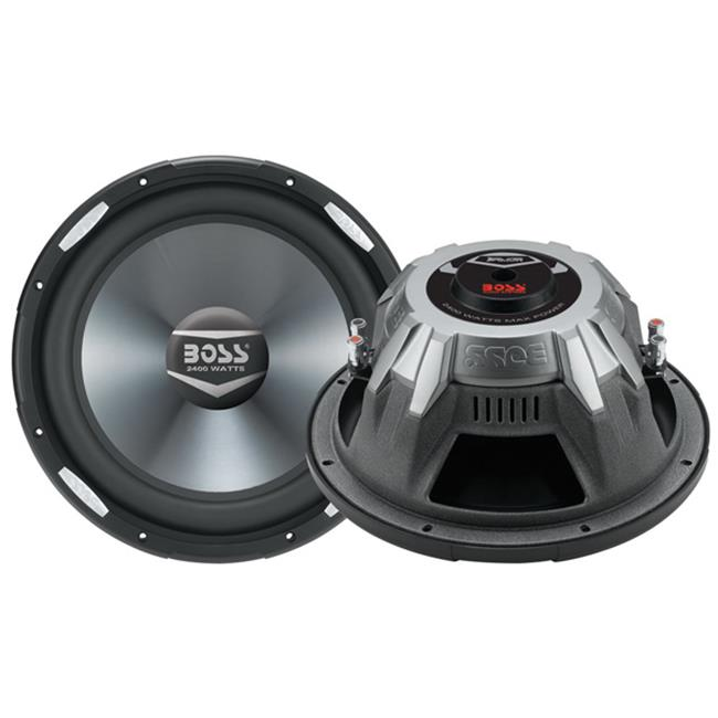 BOSS AUDIO SYSTEMS AR12D 2400 Watts 12 in. Dual 4-Ohm Voice Coil Subwoofer