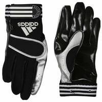 Adidas Mens University Le Gloves Football Athletic Gloves  -