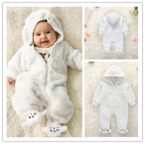 Newborn Baby Boy Girl 100/% Cotton Romper Sunsuit Jumpsuit Clothes Outfits USA