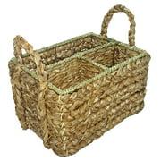 Cheungs Seagrass Rectangular Garden Tool Basket