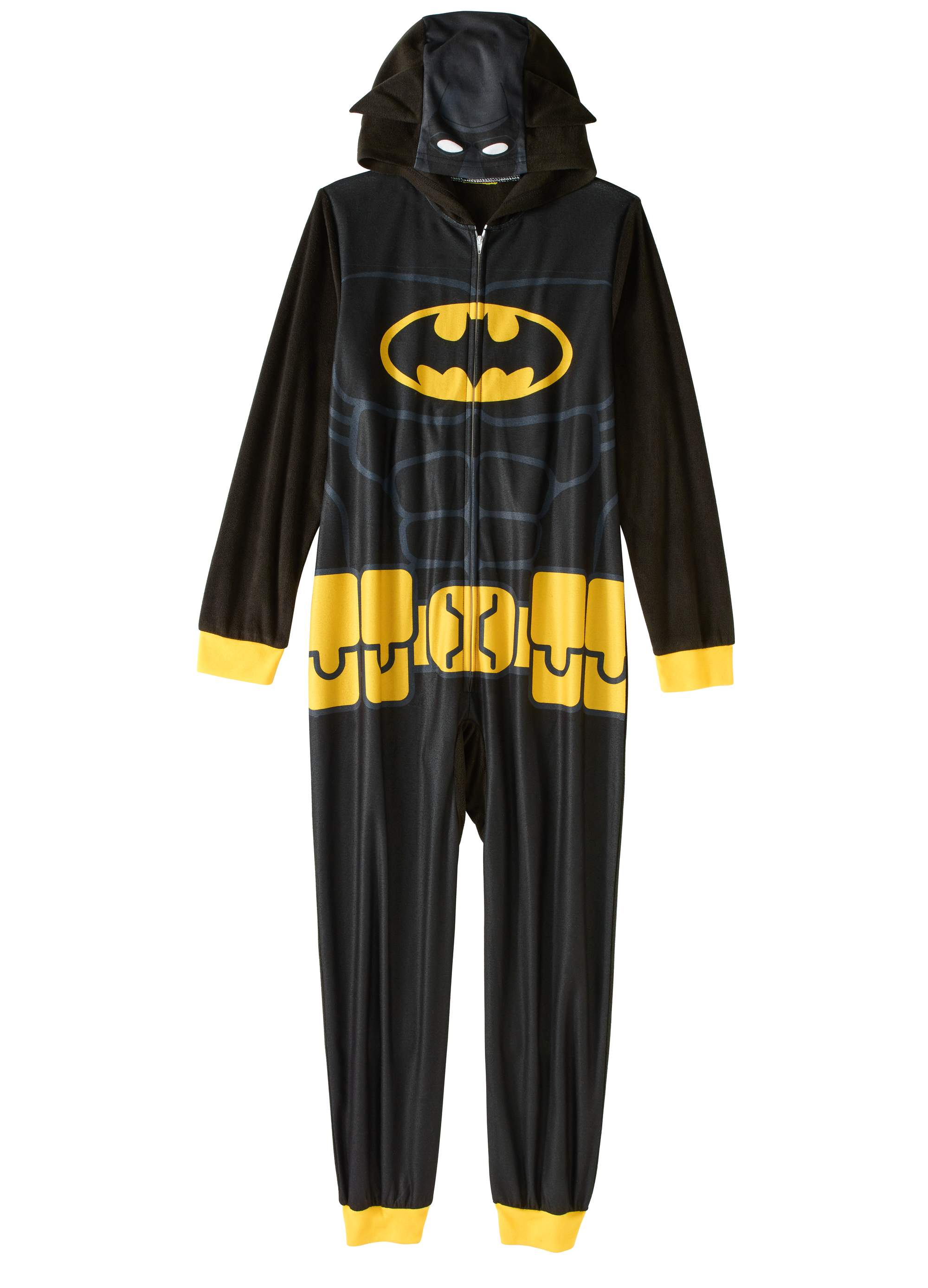 Batman Boys' Hooded Pajama Onesie Union Suit by Generic