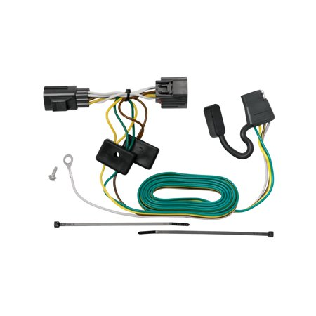 118416 T-One Connector Assembly, T-One Tow Harness Connectors require no splicing of vehicle wires, just locate your vehicle's wiring harness.., By Tekonsha