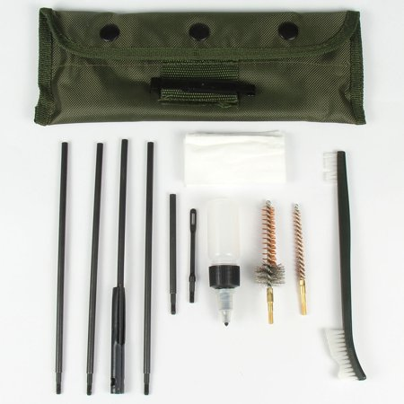 TACFUN 10pc Universal .22 cal .223 556 Rifle Gun Pistol Cleaning Kit (223 Rem Rifles)