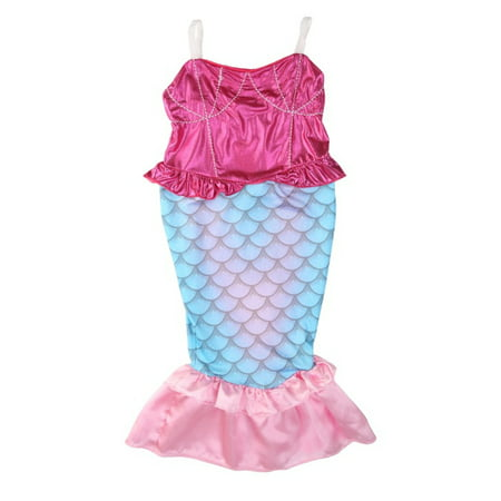 StylesILove Kids Girl's Princess Mermaid Dress Halloween Party Costume (150/11-12 Years)](Thrift Store Halloween)