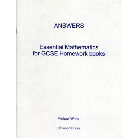 Essential Maths for GCSE Homework: Answer Book (foundation and Higher)