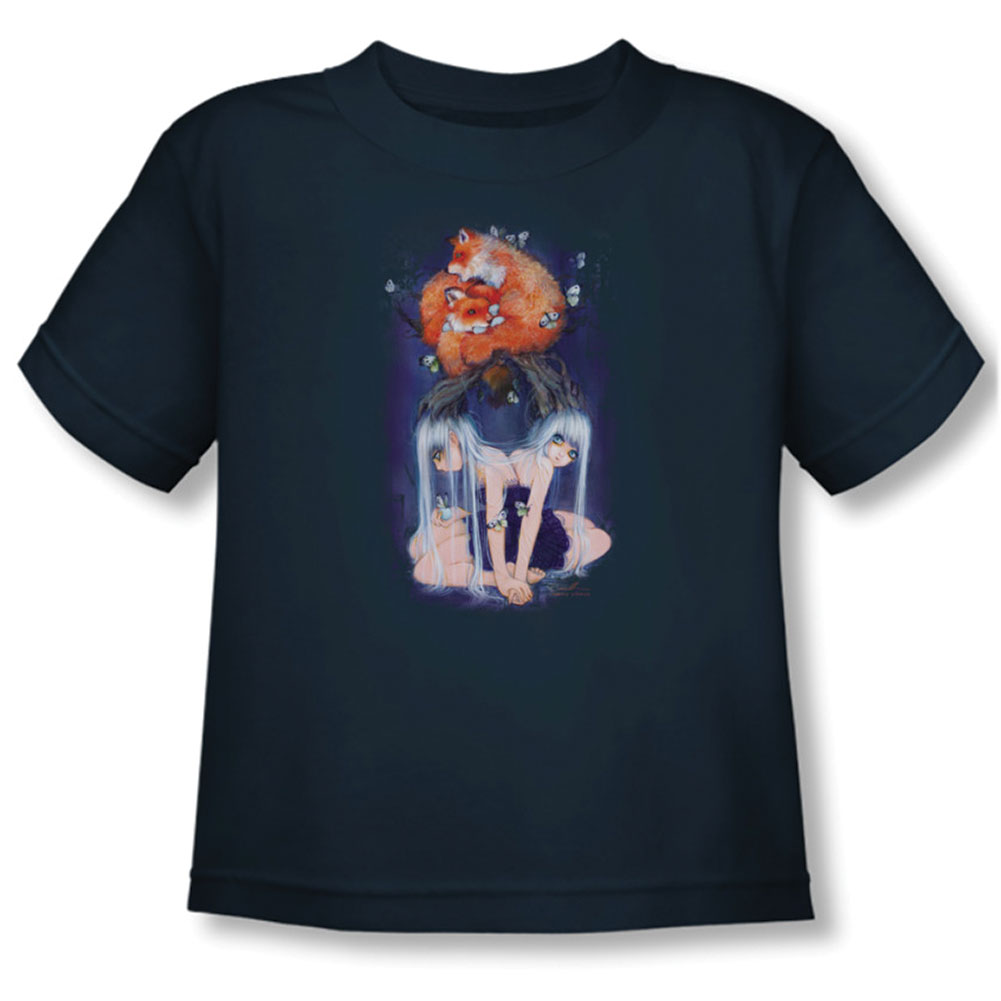 Helmetgirls Boys' The Bonded Tree Childrens T-shirt Blue