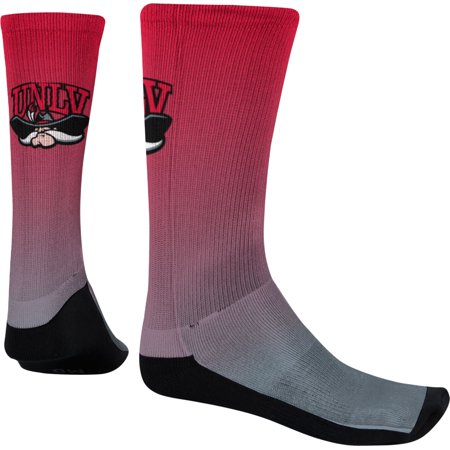 Las Vegas Stock Photo - Spectrum Sublimation Men's University of Nevada Las Vegas Fade Sublimated Socks