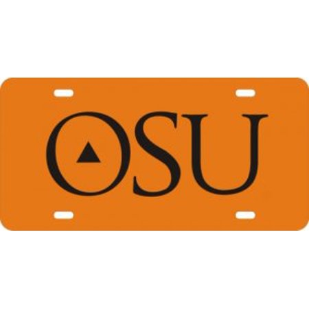 Oklahoma State Cowboys Orange Laser License Plate - image 2 de 2