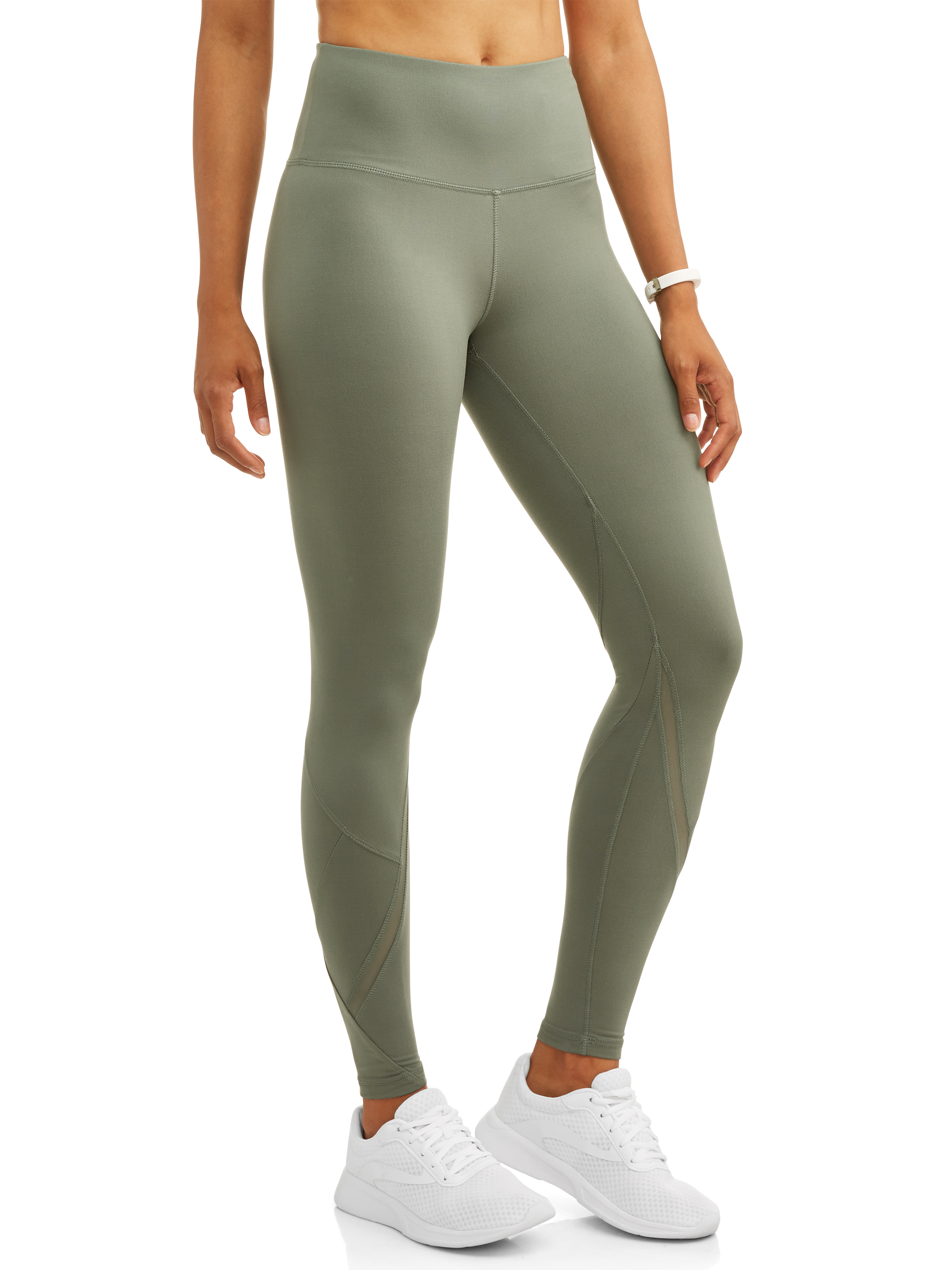 0e3b4f61dc8161 Danskin - women's premium active high rise performance legging with mesh  ankle - Walmart.com