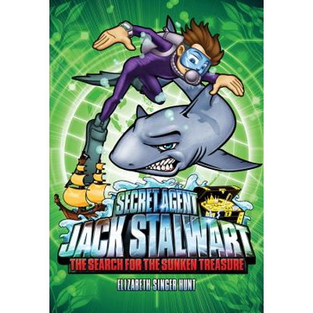 Sunken Village - Secret Agent Jack Stalwart: Book 2: The Search for the Sunken Treasure: Australia