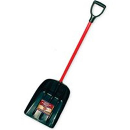 - Mulch And Snow Scoop With Fiberglass D-Grip Handle