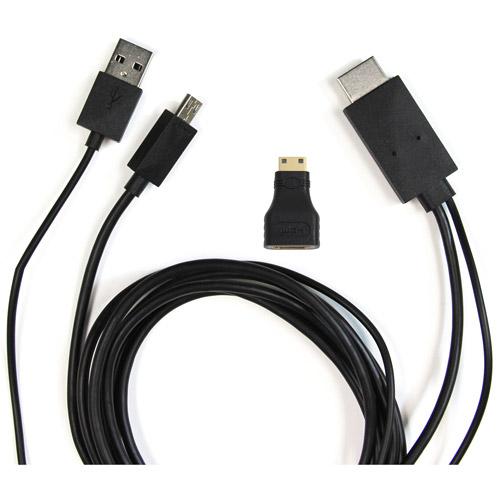 AAXA MHL Cable for Samsung Galaxy S III and Samsung Galaxy Note II