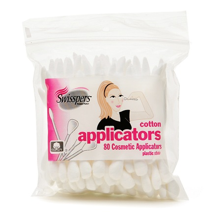 Swisspers Cosmetic Cotton Applicators 80 ea(pack of 4)