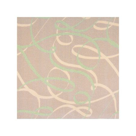 Joy Carpets Ribbons - Joy Rugs Ribbons Machine Tufted - Cut Pile Green 5'4