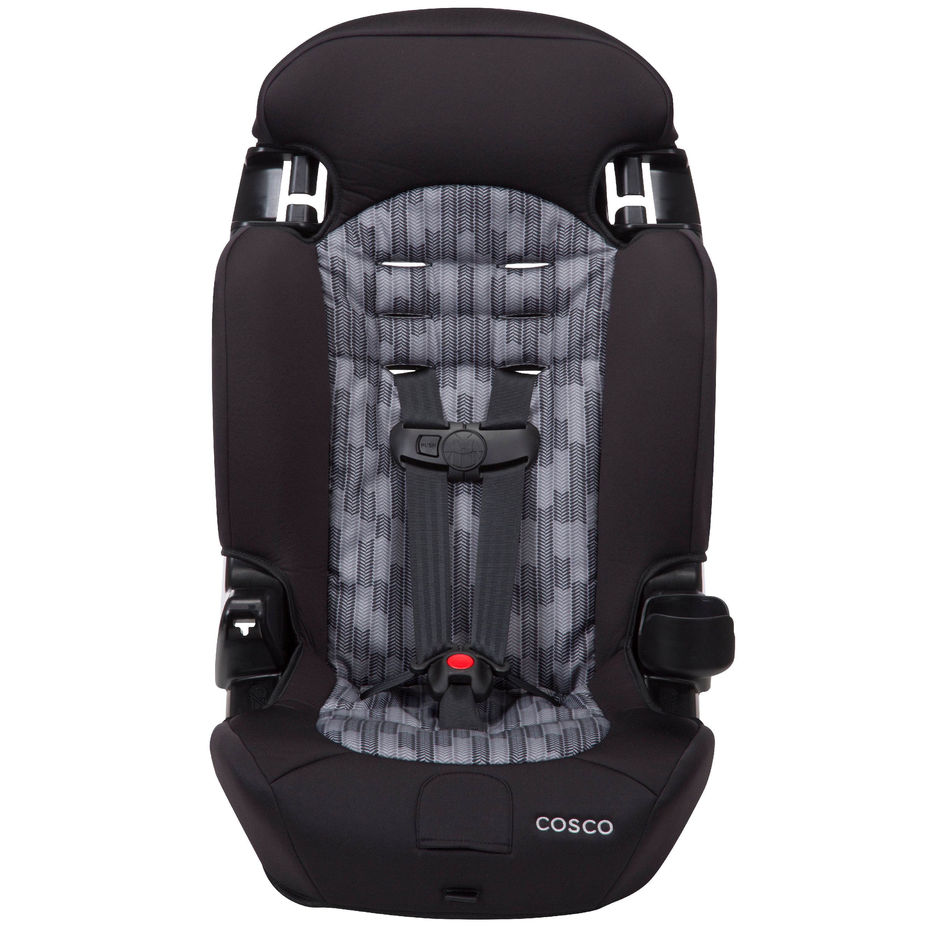 Cosco Finale 2-in-1 Harness Highback Booster Car Seat, Flight