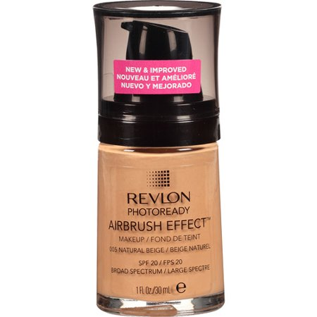 Effects Makeup - Revlon PhotoReady Airbrush Effect Makeup, Natural Beige, 1 fl Oz
