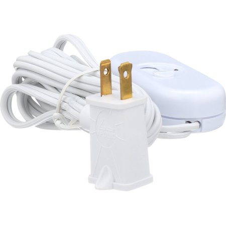 - AmerTac 4010W Westek Indoor Plug In Table Top 300W Dimmer Slide, White