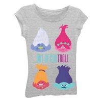 "Dreamworks Trolls ""Out Of Control"" Graphic T-Shirt (Little Girls & Big Girls)"
