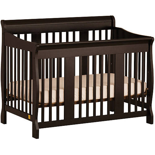 Storkcraft Tuscany 4-in-1 Crib, Black