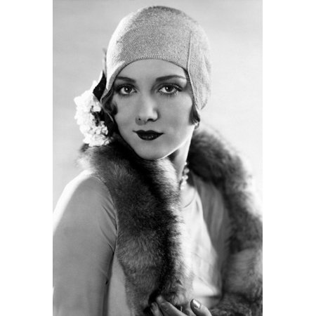 ADSC How To Gatsby Womens Accessories. Leila Hyams Vintage 1920s Fashion  Pose In Hat 24x36 Poster 3fd798ce26147