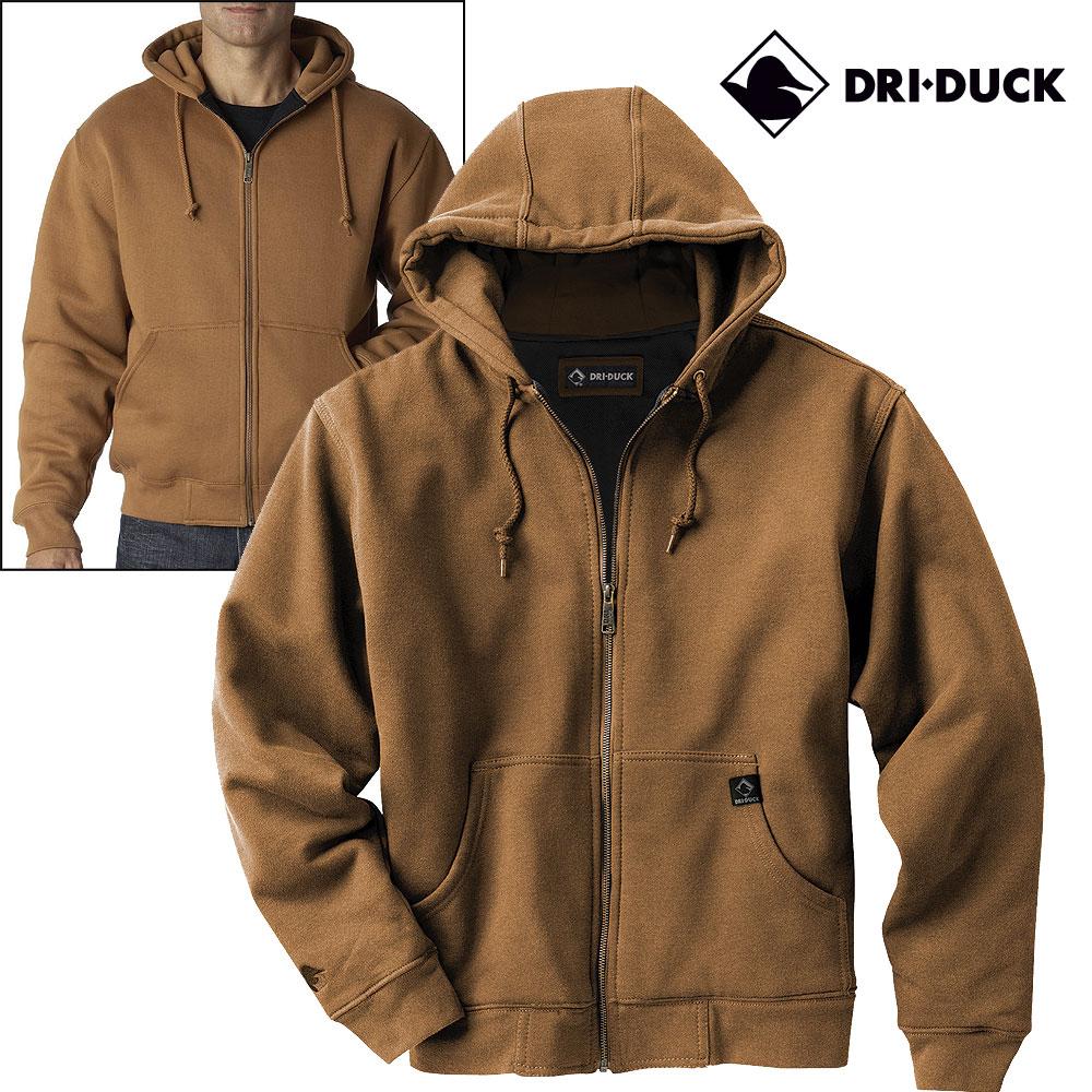 Dri Duck Men's Crossfire POWERFLEECE™ Fleece Jacket - DARK OXFORD - 3XL  7033 - Walmart.com